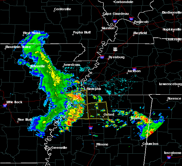 Radar Image for Severe Thunderstorms near Senatobia, MS at 6/23/2018 7:55 AM CDT