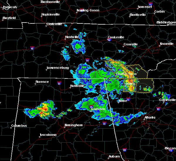 Radar Image for Severe Thunderstorms near Benton, TN at 6/23/2018 2:40 PM EDT