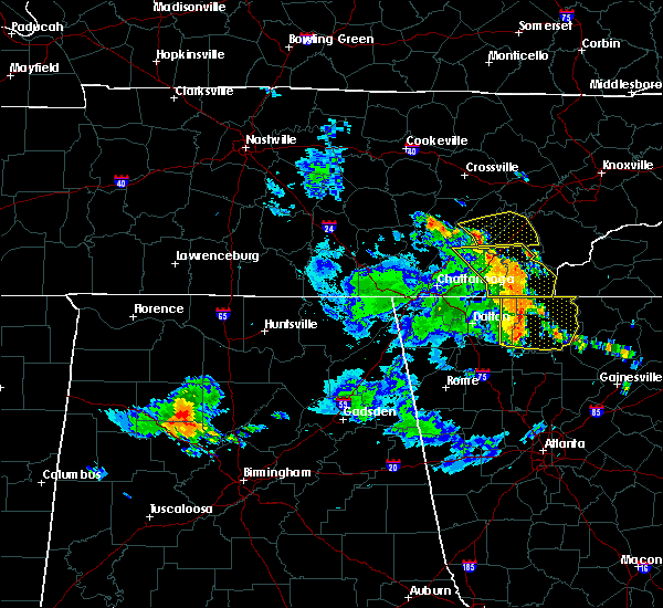 Radar Image for Severe Thunderstorms near Englewood, TN at 6/23/2018 2:55 PM EDT