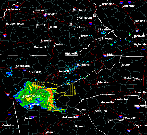 Radar Image for Severe Thunderstorms near Murphy, NC at 6/23/2018 3:22 PM EDT
