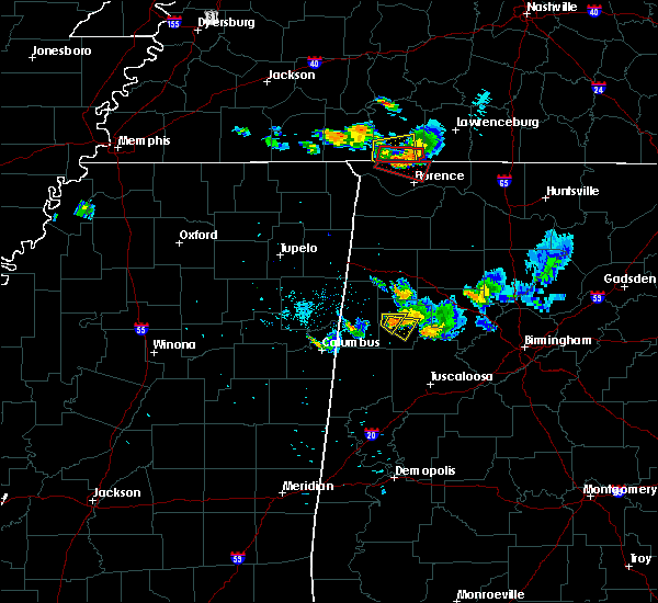 Radar Image for Severe Thunderstorms near Fayette, AL at 6/23/2018 8:17 PM CDT