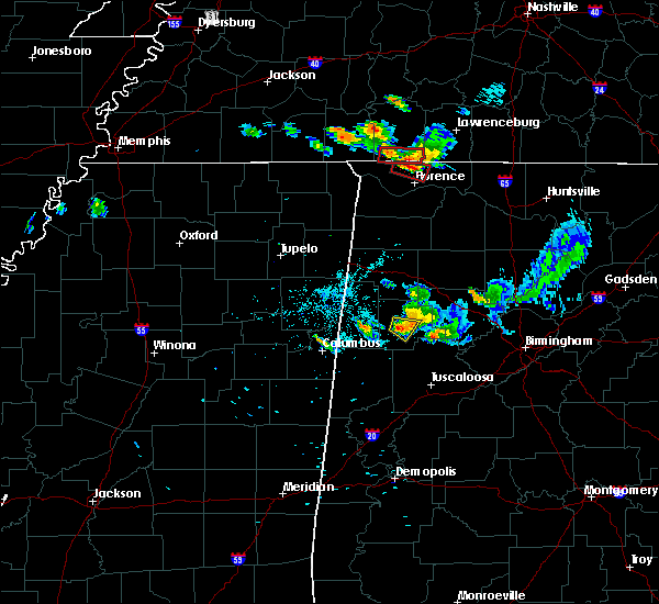 Radar Image for Severe Thunderstorms near Fayette, AL at 6/23/2018 8:25 PM CDT