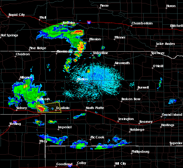 Radar Image for Severe Thunderstorms near Roscoe, NE at 6/24/2018 1:00 PM MDT