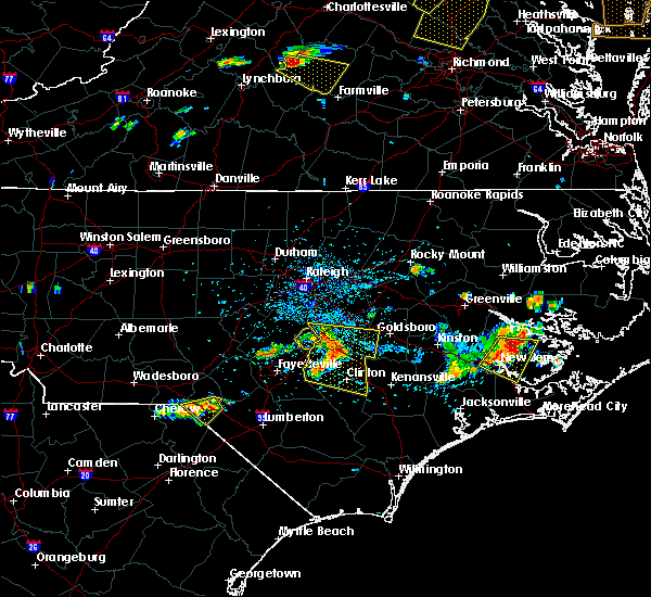 Radar Image for Severe Thunderstorms near Plain View, NC at 6/24/2018 4:25 PM EDT