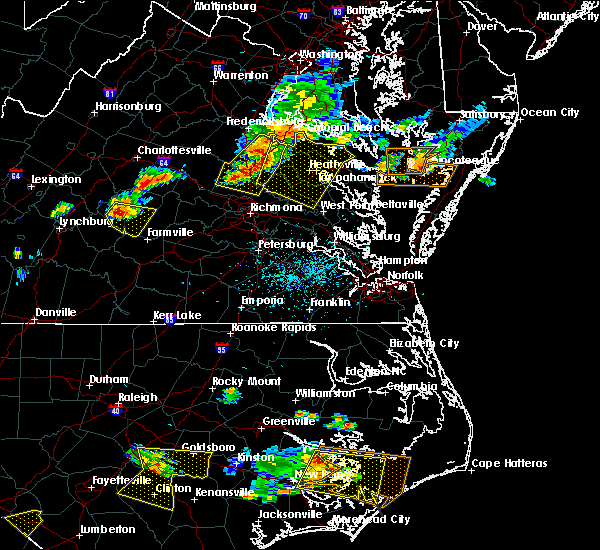 Radar Image for Severe Thunderstorms near Dillwyn, VA at 6/24/2018 4:35 PM EDT