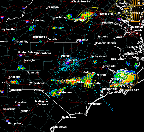 Radar Image for Severe Thunderstorms near Vander, NC at 6/24/2018 5:25 PM EDT