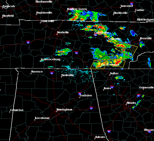 Radar Image for Severe Thunderstorms near Harrison, TN at 6/24/2018 5:26 PM EDT