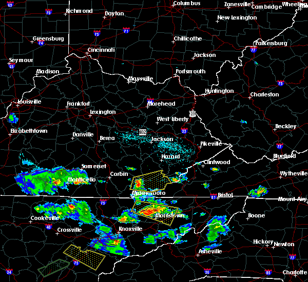 Radar Image for Severe Thunderstorms near Loyall, KY at 6/24/2018 6:26 PM EDT
