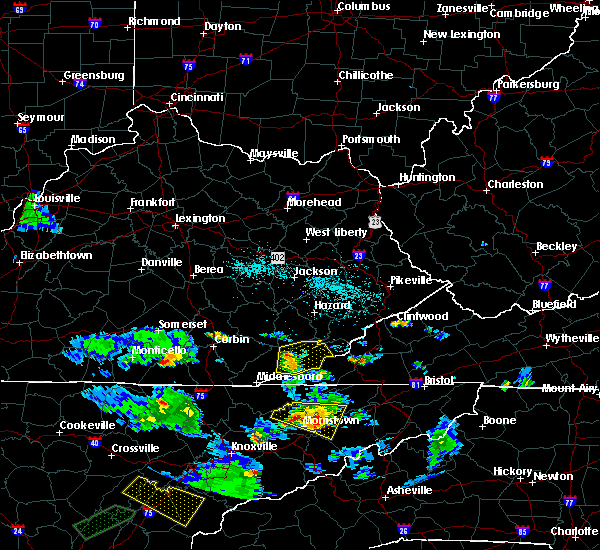 Radar Image for Severe Thunderstorms near Loyall, KY at 6/24/2018 6:48 PM EDT