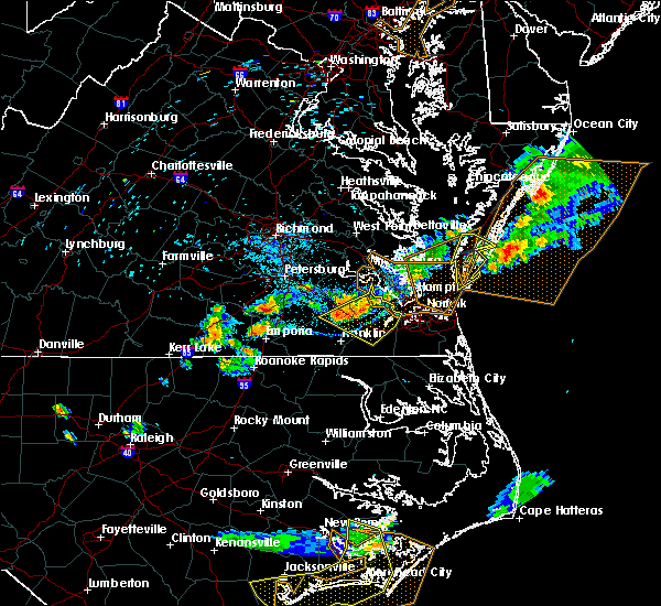 Radar Image for Severe Thunderstorms near Windsor, VA at 6/24/2018 7:40 PM EDT