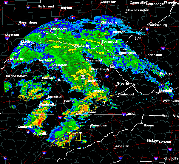Radar Image for Severe Thunderstorms near Jenkins, KY at 6/25/2018 1:36 PM EDT