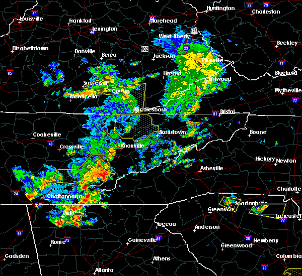 Radar Image for Severe Thunderstorms near Barbourville, KY at 6/25/2018 2:55 PM EDT