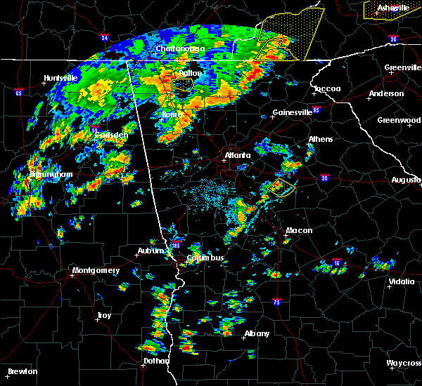 Radar Image for Severe Thunderstorms near Shady Dale, GA at 6/25/2018 4:02 PM EDT