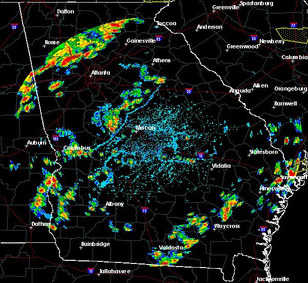 Radar Image for Severe Thunderstorms near Macon, GA at 6/25/2018 4:34 PM EDT