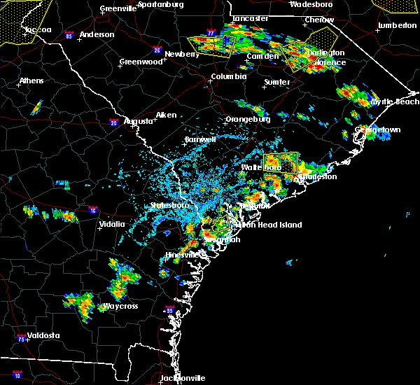 Radar Image for Severe Thunderstorms near North Charleston, SC at 6/25/2018 4:42 PM EDT