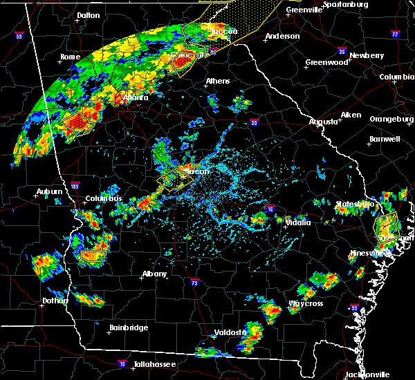 Radar Image for Severe Thunderstorms near Macon, GA at 6/25/2018 5:28 PM EDT