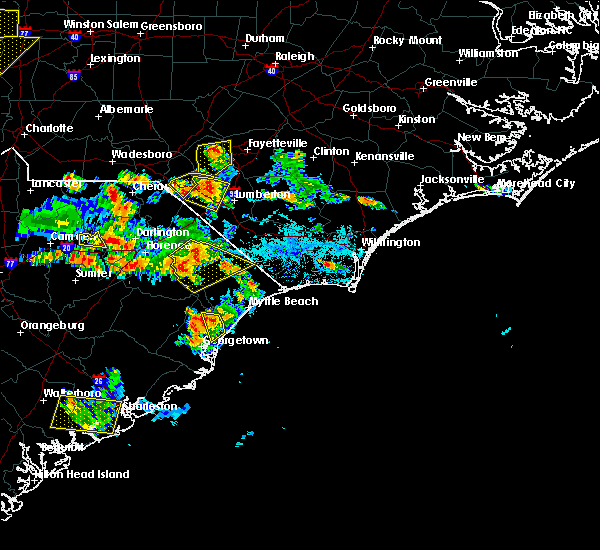 Radar Image for Severe Thunderstorms near Murrells Inlet, SC at 6/25/2018 5:47 PM EDT