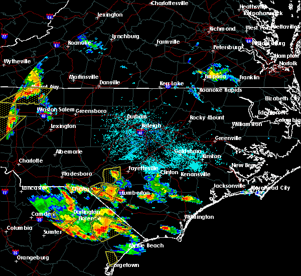 Radar Image for Severe Thunderstorms near Laurel Hill, NC at 6/25/2018 6:00 PM EDT