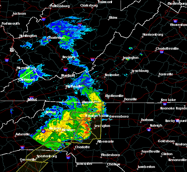 Radar Image for Severe Thunderstorms near King, NC at 6/25/2018 6:56 PM EDT