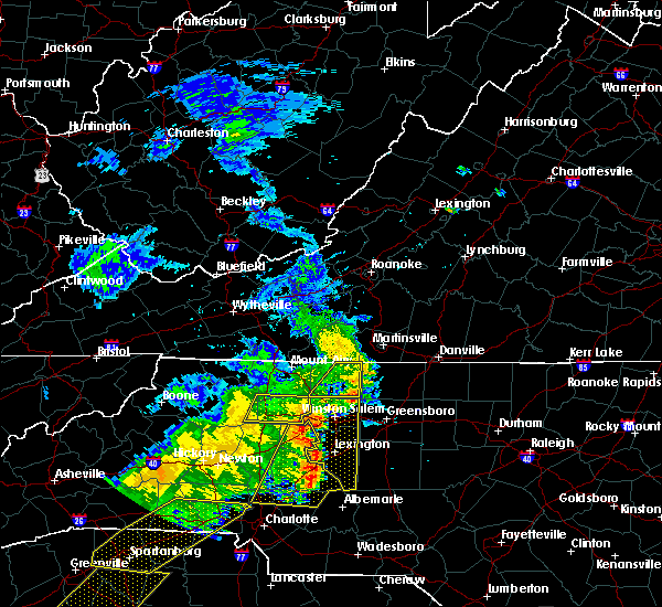 Radar Image for Severe Thunderstorms near Misenheimer, NC at 6/25/2018 7:03 PM EDT