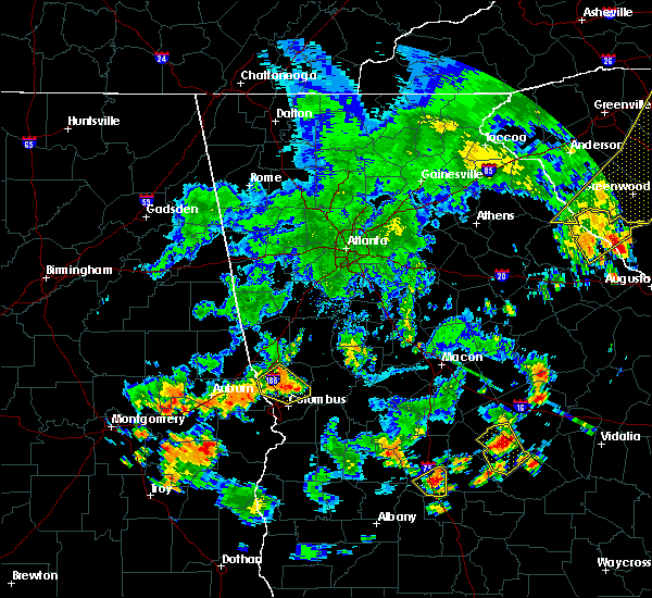 Radar Image for Severe Thunderstorms near Columbus, GA at 6/25/2018 7:20 PM EDT