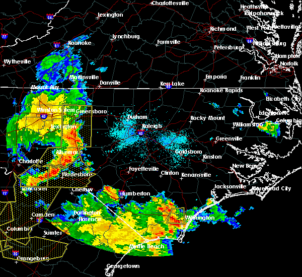Radar Image for Severe Thunderstorms near Moncure, NC at 6/25/2018 8:17 PM EDT