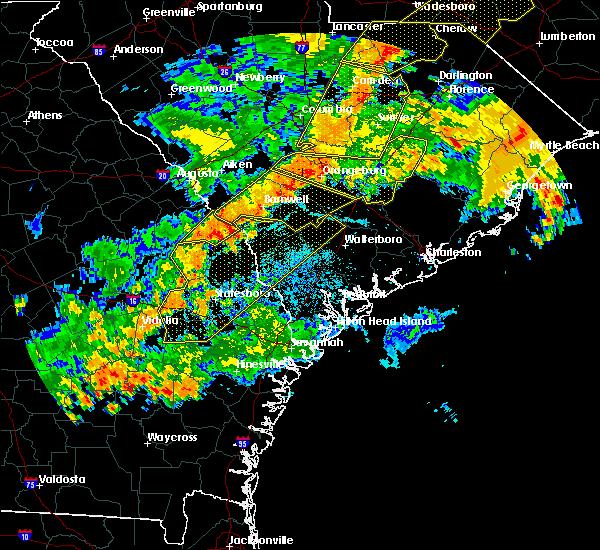 Radar Image for Severe Thunderstorms near Girard, GA at 6/25/2018 9:17 PM EDT