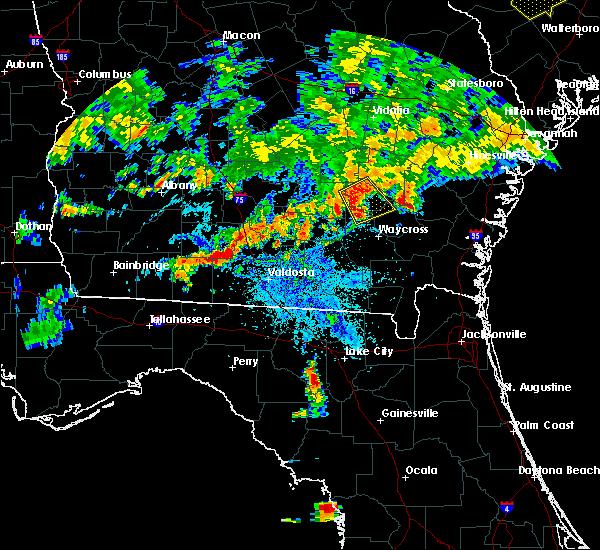 Radar Image for Severe Thunderstorms near Branford, FL at 6/25/2018 10:01 PM EDT