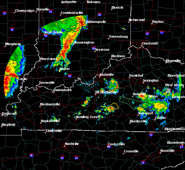 Radar Image for Severe Thunderstorms near Campbellsville, KY at 6/26/2018 10:33 AM EDT