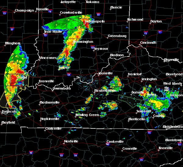 Radar Image for Severe Thunderstorms near Campbellsville, KY at 6/26/2018 10:50 AM EDT