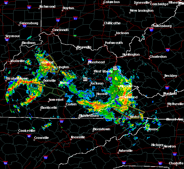 Radar Image for Severe Thunderstorms near Georgetown, KY at 6/26/2018 11:52 AM EDT