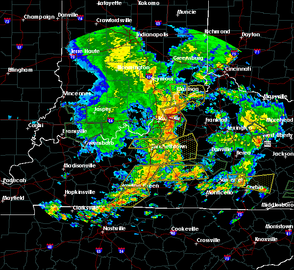 Radar Image for Severe Thunderstorms near Ghent, KY at 6/26/2018 1:52 PM EDT