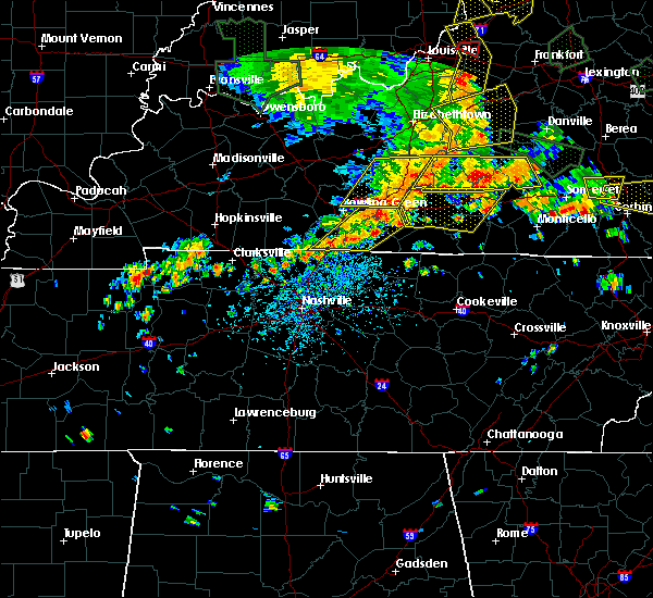 Radar Image for Severe Thunderstorms near Glasgow, KY at 6/26/2018 12:58 PM CDT