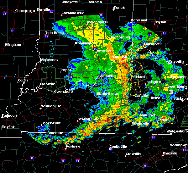 Radar Image for Severe Thunderstorms near Midway, KY at 6/26/2018 2:32 PM EDT