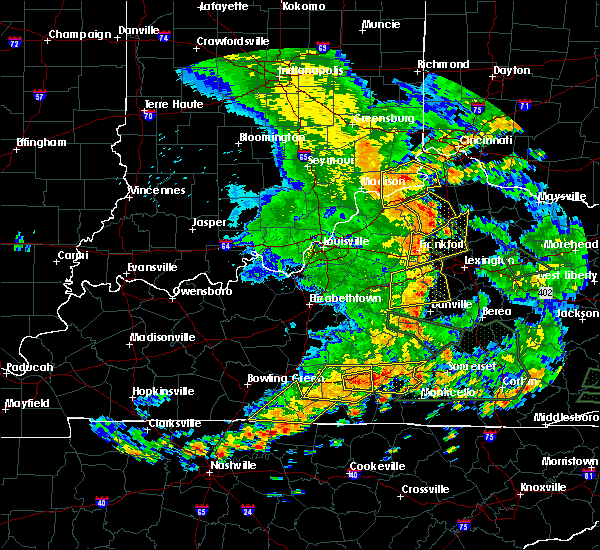 Radar Image for Severe Thunderstorms near Owenton, KY at 6/26/2018 2:42 PM EDT