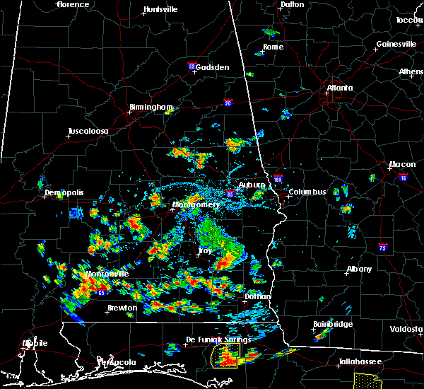 Radar Image for Severe Thunderstorms near Gordonville, AL at 6/26/2018 4:07 PM CDT