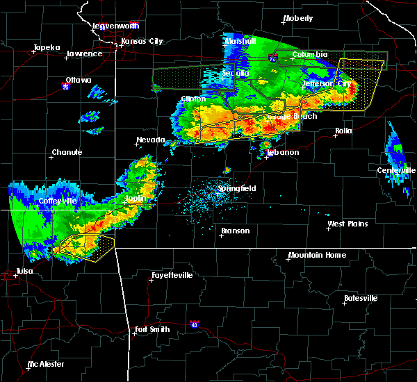 Radar Image for Severe Thunderstorms near St. Elizabeth, MO at 6/26/2018 4:07 PM CDT