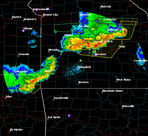 Radar Image for Severe Thunderstorms near St. Elizabeth, MO at 6/26/2018 4:10 PM CDT