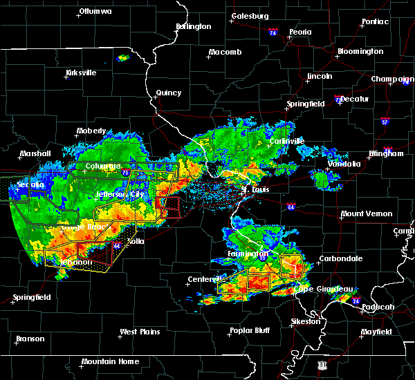Radar Image for Severe Thunderstorms near Leslie, MO at 6/26/2018 4:29 PM CDT