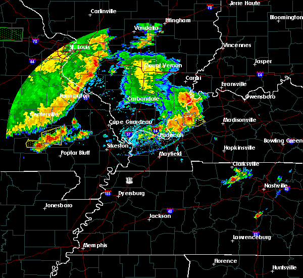 Radar Image for Severe Thunderstorms near Marion, KY at 6/26/2018 6:16 PM CDT