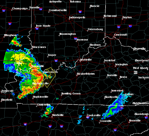 Radar Image for Severe Thunderstorms near Fordsville, KY at 6/26/2018 7:19 PM CDT