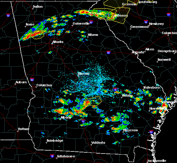 Radar Image for Severe Thunderstorms near Eastman, GA at 6/27/2018 4:26 PM EDT