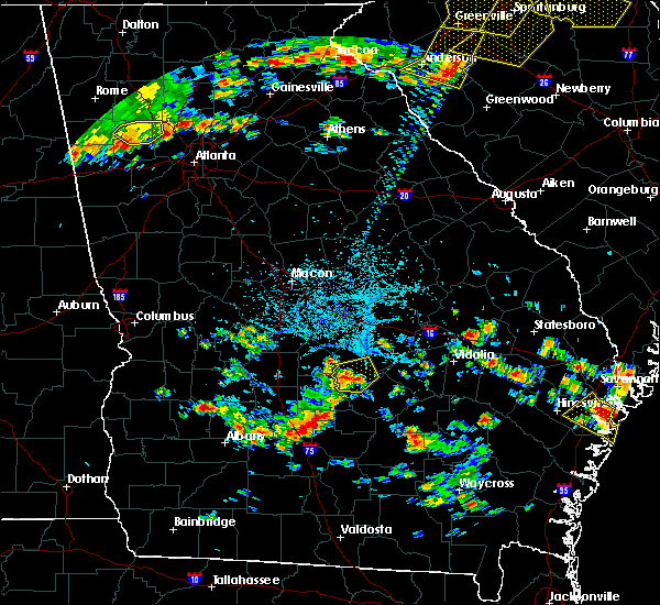 Radar Image for Severe Thunderstorms near Eastman, GA at 6/27/2018 4:56 PM EDT