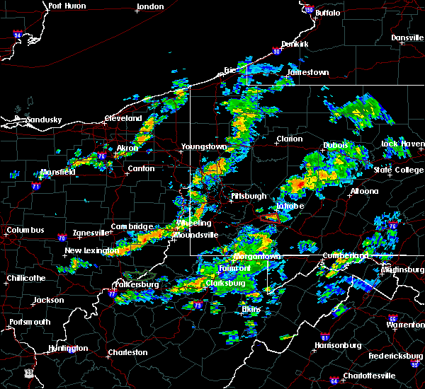 Radar Image for Severe Thunderstorms near Youngstown, PA at 6/27/2018 8:21 PM EDT