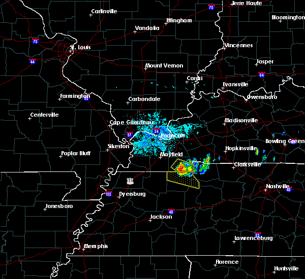 Radar Image for Severe Thunderstorms near Murray, KY at 6/27/2018 8:38 PM CDT