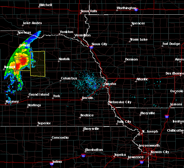 Radar Image for Severe Thunderstorms near St. Edward, NE at 6/28/2018 7:05 AM CDT