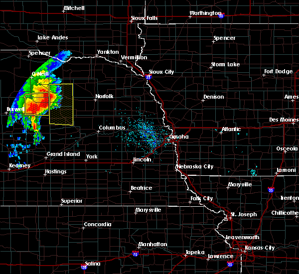 Radar Image for Severe Thunderstorms near St. Edward, NE at 6/28/2018 7:14 AM CDT