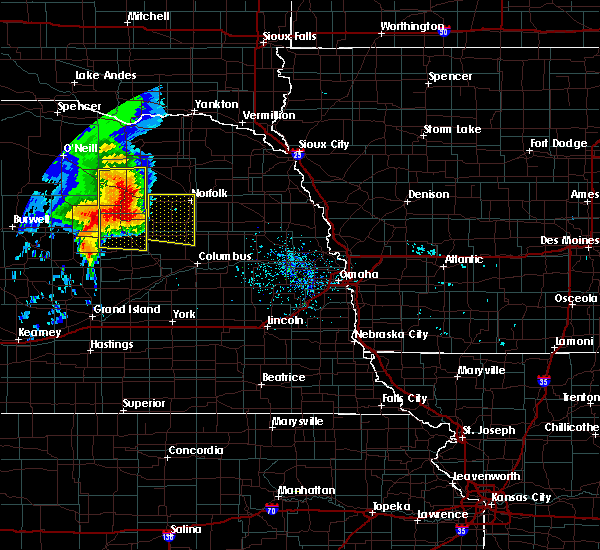 Radar Image for Severe Thunderstorms near St. Edward, NE at 6/28/2018 7:38 AM CDT