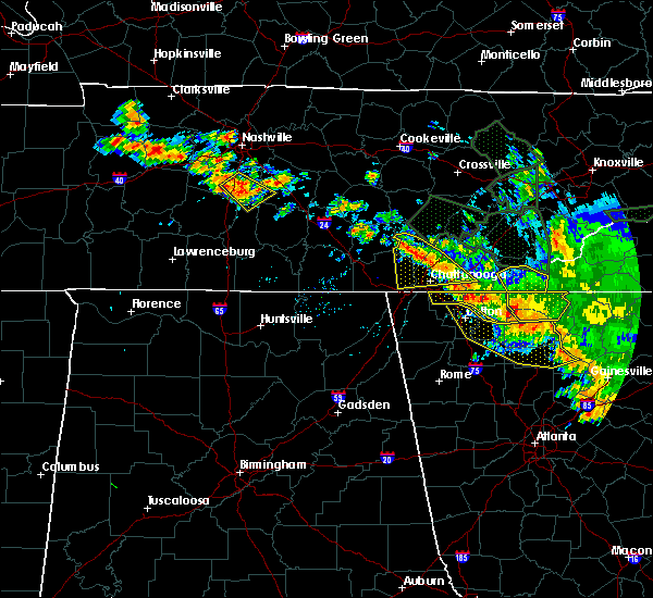 Radar Image for Severe Thunderstorms near Morganton, GA at 6/28/2018 10:56 AM EDT