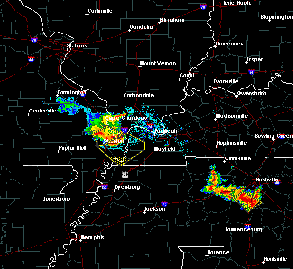 Radar Image for Severe Thunderstorms near Columbus, KY at 6/28/2018 10:24 AM CDT